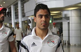 """إبراهيم عبد الخالق ضيف هاني حتحوت في """"الماتش"""""""