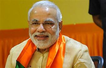 """""""مودي"""" يزور ولاية هندية تجتاحها الفيضانات والخسائر 2.78 مليار دولار"""