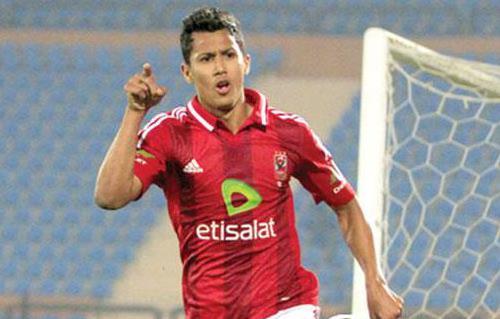 عمرو جمال يقود هجوم الأهلي أمام الفيصلي الأردني بالبطولة العربية للأندية -