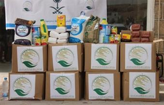 """""""سلمان للإغاثة"""" يوزع 4 آلاف سلة غذائية في مديرية رحبة اليمنية"""