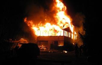 """""""الحماية المدنية"""" تسيطر على حريق بمصنعين غير مرخصين بأجا في الدقهلية"""