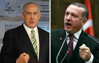 """أردوغان يصف نيتانياهو بـ""""الإرهابى المحتل"""" وسط تصعيد للحرب الكلامية بينهما"""