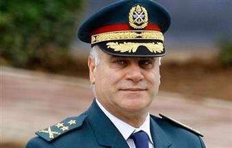 قائد الجيش اللبنانى يستقبل قائد حاملة الطوافات البريطانية همس أوكين