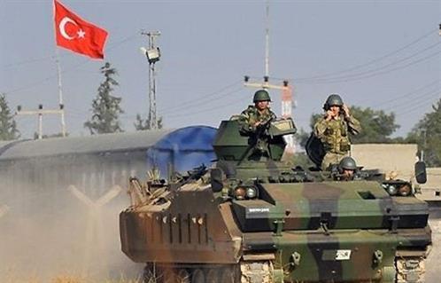 تعزيزات عسكرية تركية إلى مدينة