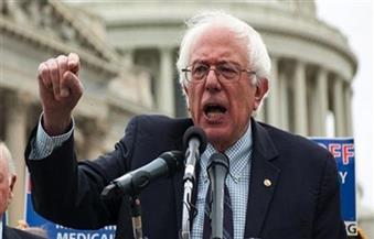 المرشح الديمقراطي المحتمل ساندرز: لدي متبرعون أكثر من ترامب