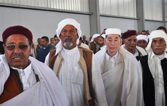 مشايخ القبائل الليبية: خطاب الرئيس السيسي استجابة لمطالبنا.. ونتعرض لغزو إرهابي تركي |فيديو