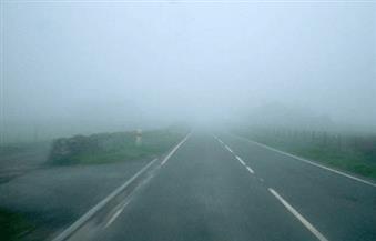 إغلاق طريق الساحل الشمالي حتى مطروح بسبب الشبورة المائية