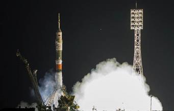مركبة فضاء روسية تحمل إنسانا آليا تلتحم بالمحطة الدولية