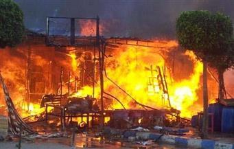 حبس سائق اللودر المتسبب فى واقعة انفجار ماسورة الغاز وتفحم 10 سيارات بالإسكندرية
