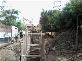 """تنفيذ مشروع الصرف الصحي في """"دقرن"""" بكفرالزيات منتصف أغسطس"""