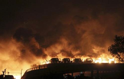 فرق الإنقاذ تواصل البحث عن مفقودين في انفجار مصنع للكيماويات بألمانيا