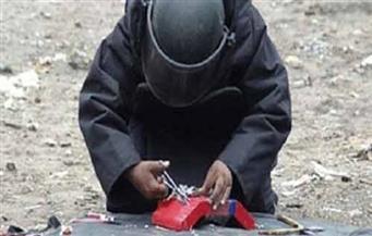 إبطال مفعول قنبلة يدوية الصنع أسفل كوبري العوايد بالإسكندرية