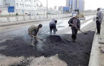 محافظ الإسكندرية يتفقد مشروع تأهيل طريق السد العالي