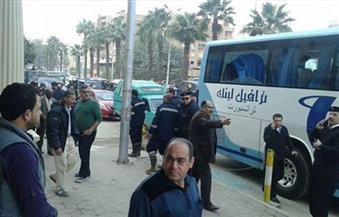 """وقف إجراءات محاكمة المتهمين بالهجوم على فندق """"الأهرامات"""" لحين الفصل في طلب رد المحكمة"""