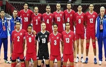 منتخب مصر للكرة الطائرة يغادر إلي البرازيل