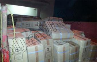 ضبط 4 آلاف علبة سجائر صينية و3 أطنان سماد بحملة تموينية في قنا