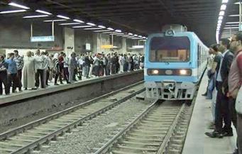 """شاب يعبث بـ""""بلف الطوارئ"""" بقطار مترو الأنفاق.. والسائق: """"خلينا واقفين"""""""