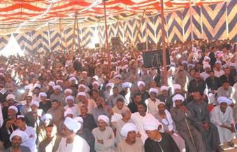 """جلسة صلح بين """"العطاطوة"""" و""""الهرامسة"""" بقرية الحراجية مركز دشنا في قنا"""