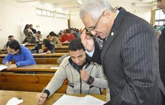 رئيس-جامعة-المنيا-ضبط--حالة-غش-في-الامتحانات-والنتيجة-خلال-أسبوعين-من-بداية-الفصل-الثاني