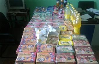 تموين الغربية يضبط 48 ألف عبوة حلوى منتهية الصلاحية و15 ألف كمامة مغشوشة