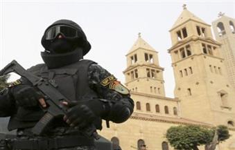 """تشديد الحراسة على كنائس دمياط بعد """"تفجير الكاتدرائية"""""""