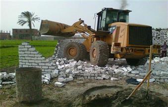 إزالة 50 حالة تعد على أملاك الدولة والأراضى الزراعية في سوهاج