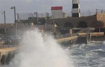 غلق بوغازي ميناءي الإسكندرية والدخيلة لسوء الأحوال الجوية وارتفاع الموج