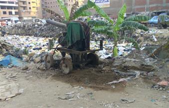 """بالصور.. """"بوابة الأهرام"""" ترصد المواقف العشوائية وانتشار القمامة بـ  """"شبرا الخيمة"""""""