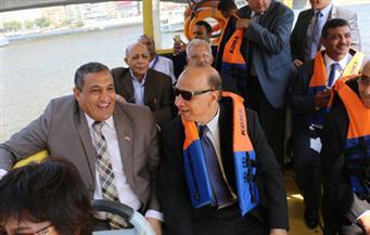 """بالصور.. محافظ القاهرة يشهد المهرجان الأول لقوارب """"الدراجون"""" على ضفاف النيل"""