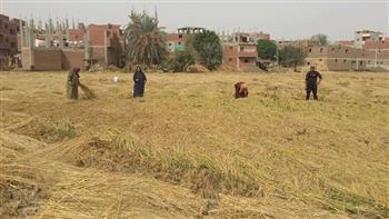 """بالصور.. وفد من منظمة """"الإيكارديا"""" يزور محافظة الشرقية لتقييم مشروع تعزيز الأمن الغذائى"""
