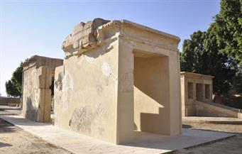 الآثار: انتهاء أعمال ترميم مقصورة زورق الملك تحتمس الثالث بالكرنك