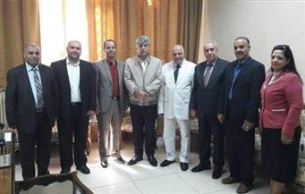 الزناتي يلتقي رئيس مكتب التربية السوري ويستقبل وفد الأمانة العامة لبحث تطوير المناهج العربية