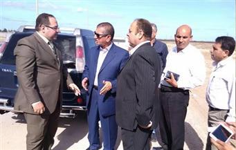 بالصور.. محافظ كفر الشيخ يتفقد أعمال إنشاء طريق بركة غليون بتكلفة 112 مليون جنيه