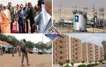 """عودة السيسي.. وقف شحنات أرامكو.. مشروع المليون وحدة.. مذبحة السودان.. """"الحسين"""" رمز الثورة.. بنشرة التاسعة"""