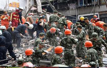 انهيار مبنى بالصين ومقتل ثلاثة أشخاص