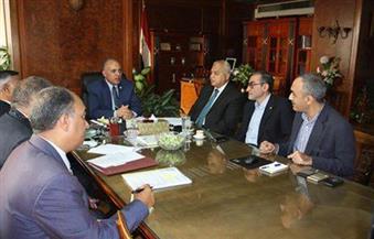 """""""عبد العاطي"""" يستقبل ممثل الـ""""فاو"""" لبحث مساهمة المنظمة في مشروع 1.5 مليون فدان"""