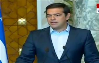 رئيس الوزراء اليوناني: التعاون مع القاهرة وقبرص اختيار استراتيجى لليونان