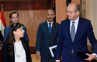 وزيرة الاستثمار تبحث مع سفير هولندا التعاون فى مجال الصوب الزراعية والترويج للطروحات الحكومية
