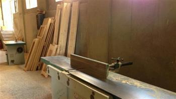 غرفة أسيوط تنتهي من إنشاء 48 ورشة أخشاب بمجمع الصناعات الصغيرة