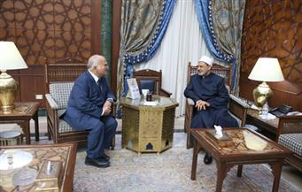 بالصور... بن طلال: الأزهرِ الشريف يُمثل ضمير الأمة ويُشكّل منبرًا قَلَّ نظيرُه في مكانتِه