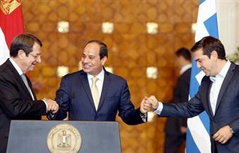 ننشر نص البيان الختامي لقمة الثلاثية بين مصر واليونان وقبرص