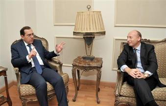 """وزير البترول يستقبل نائب رئيس """"توتال"""" الفرنسية"""" لبحث المشروعات القائمة للشركة"""