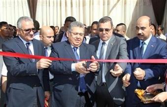 بالصور.. وزير التعليم العالى يفتتح عددًا من المنشآت الجديدة بجامعة الفيوم