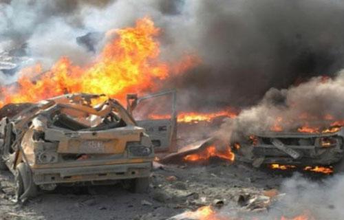 مقتل 4 فى تفجير استهدف قافلة أمنية بأفغانستان -