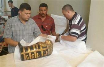 بالصور.. المتحف المصري الكبير يستقبل 362 قطعة من مقتنيات توت عنخ آمون