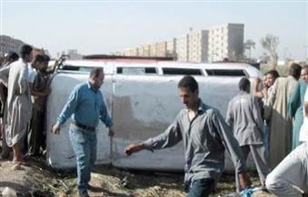 مصرع طالبة وإصابة 5 آخرين في حادث بطريق (القاهرة - الفيوم الصحراوي)