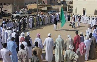 بالصور.. طقوس احتفالية للطريقة المدنية الشاذلية الصوفية في عيد الحصاد بواحة سيوة
