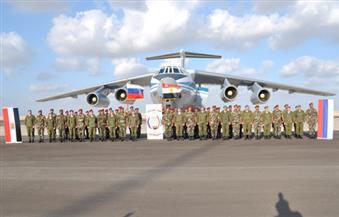"""انطلاق فعاليات """"حماة الصداقة"""".. ووصول وحدات الإنزال الجوى الروسية للمدينة العسكرية بمطروح"""