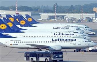 لوفتهانزا تلغي رحلتيها إلى فرانكفورت وميونخ بمطار القاهرة بسبب إضراب طياريها في ألمانيا