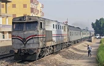 هيئة السكة الحديد: إخماد دخنة فى قطار ركاب بخط المناشى